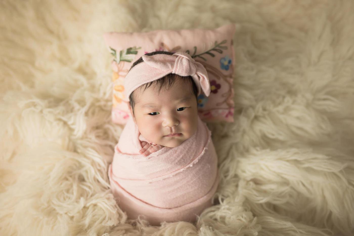 #不睡宝宝的表情秀#小美妞2
