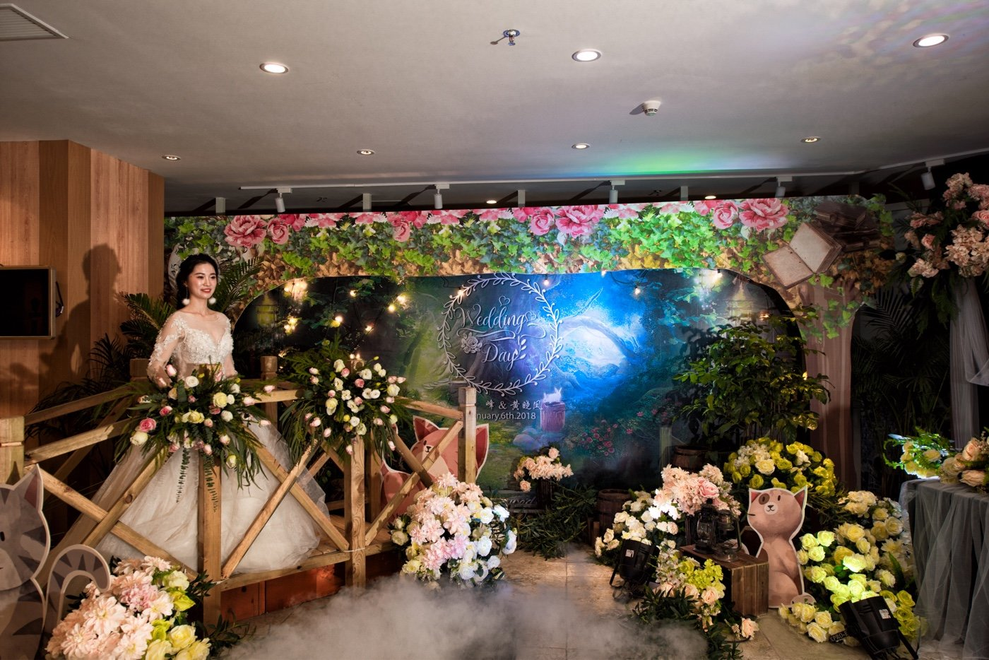 「Fantasy Wedding」&琪瑞宴会中心15