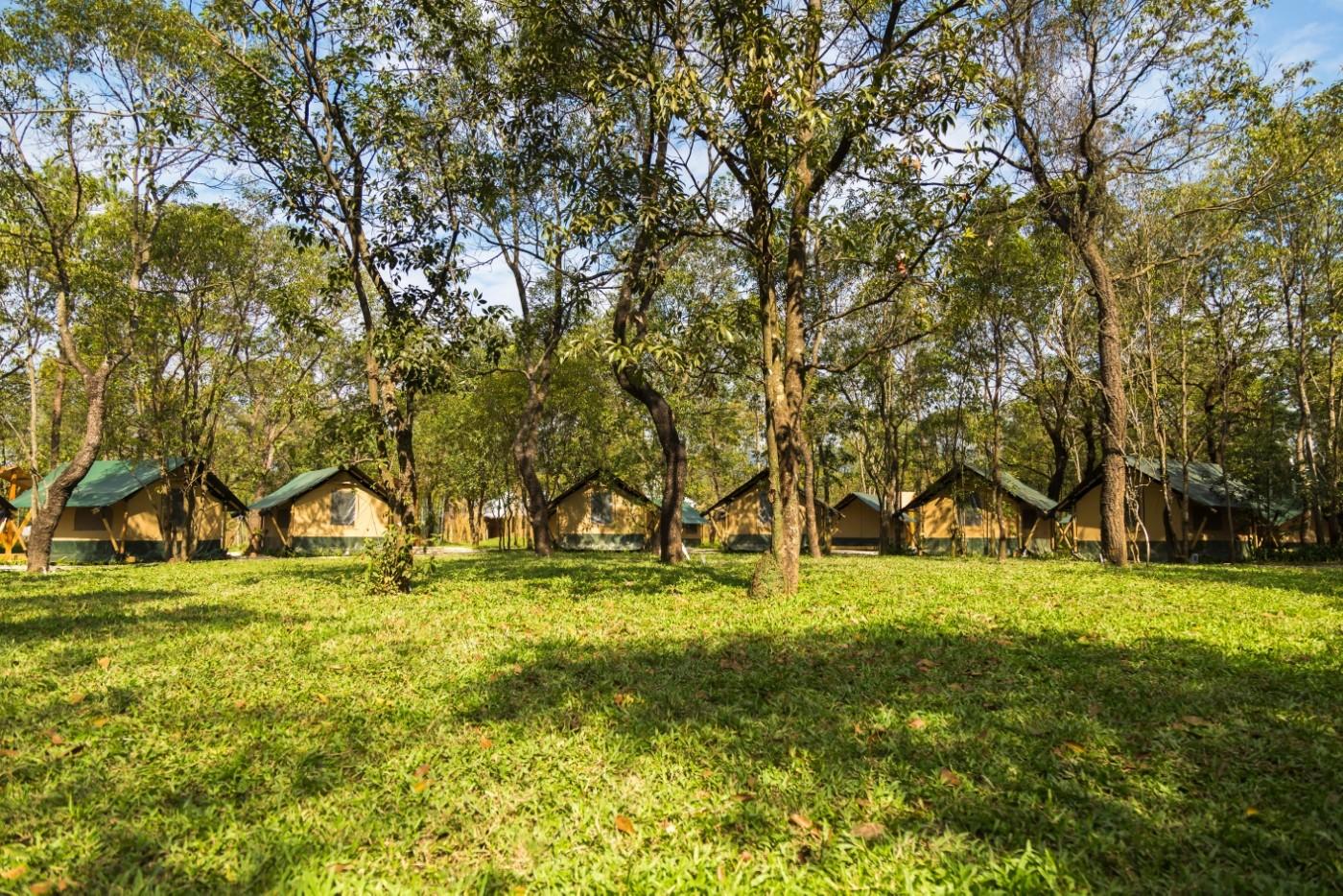 喜马拉雅青少年教育营地—广州和营天下平地帐篷酒店13