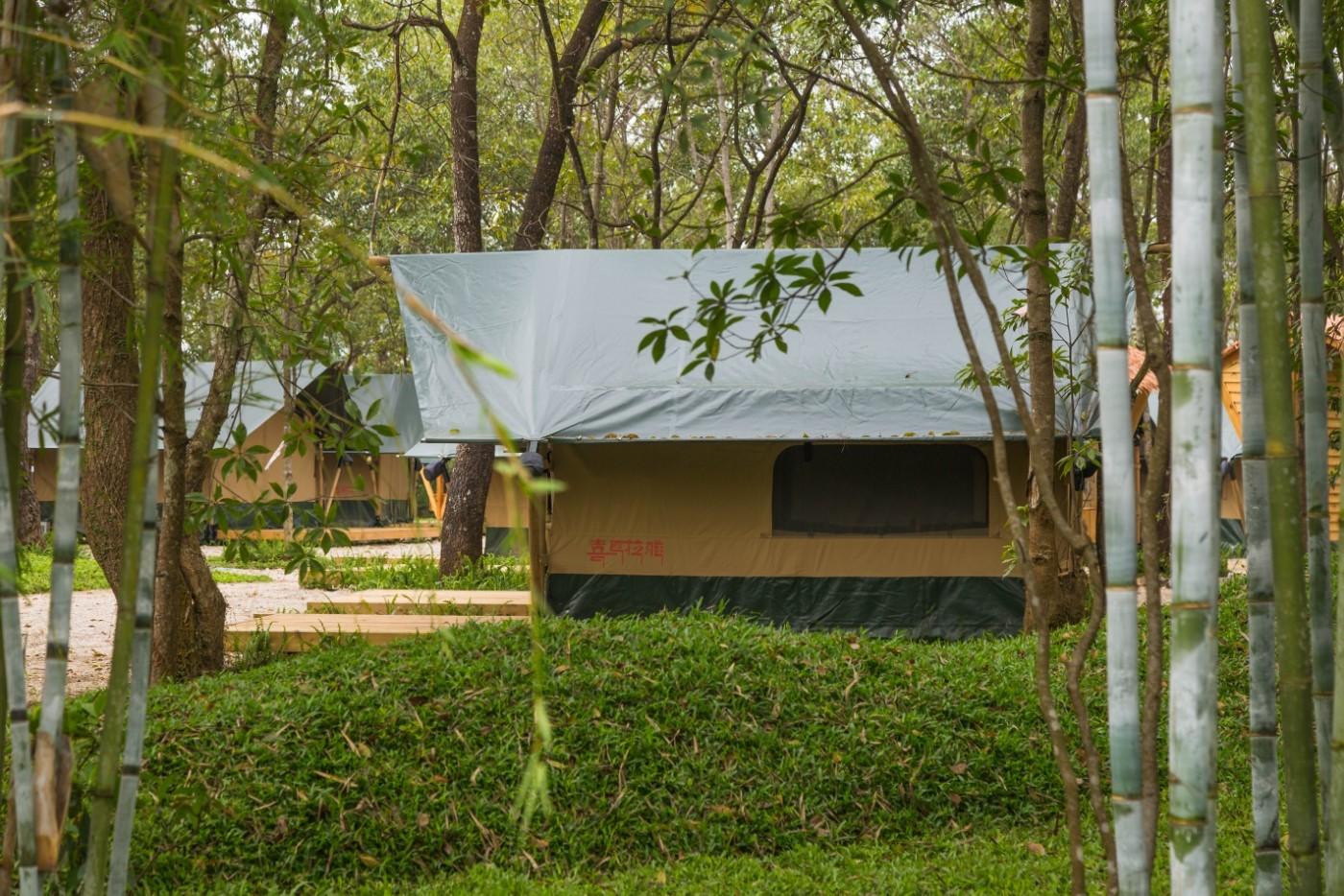 喜马拉雅青少年教育营地—广州和营天下平地帐篷酒店