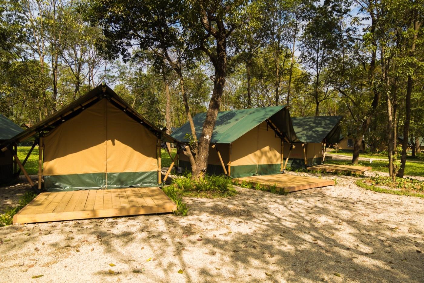 喜马拉雅青少年教育营地—广州和营天下平地帐篷酒店3