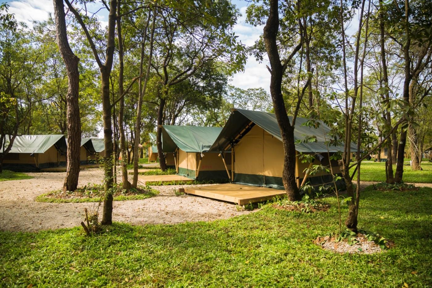 喜马拉雅青少年教育营地—广州和营天下平地帐篷酒店4