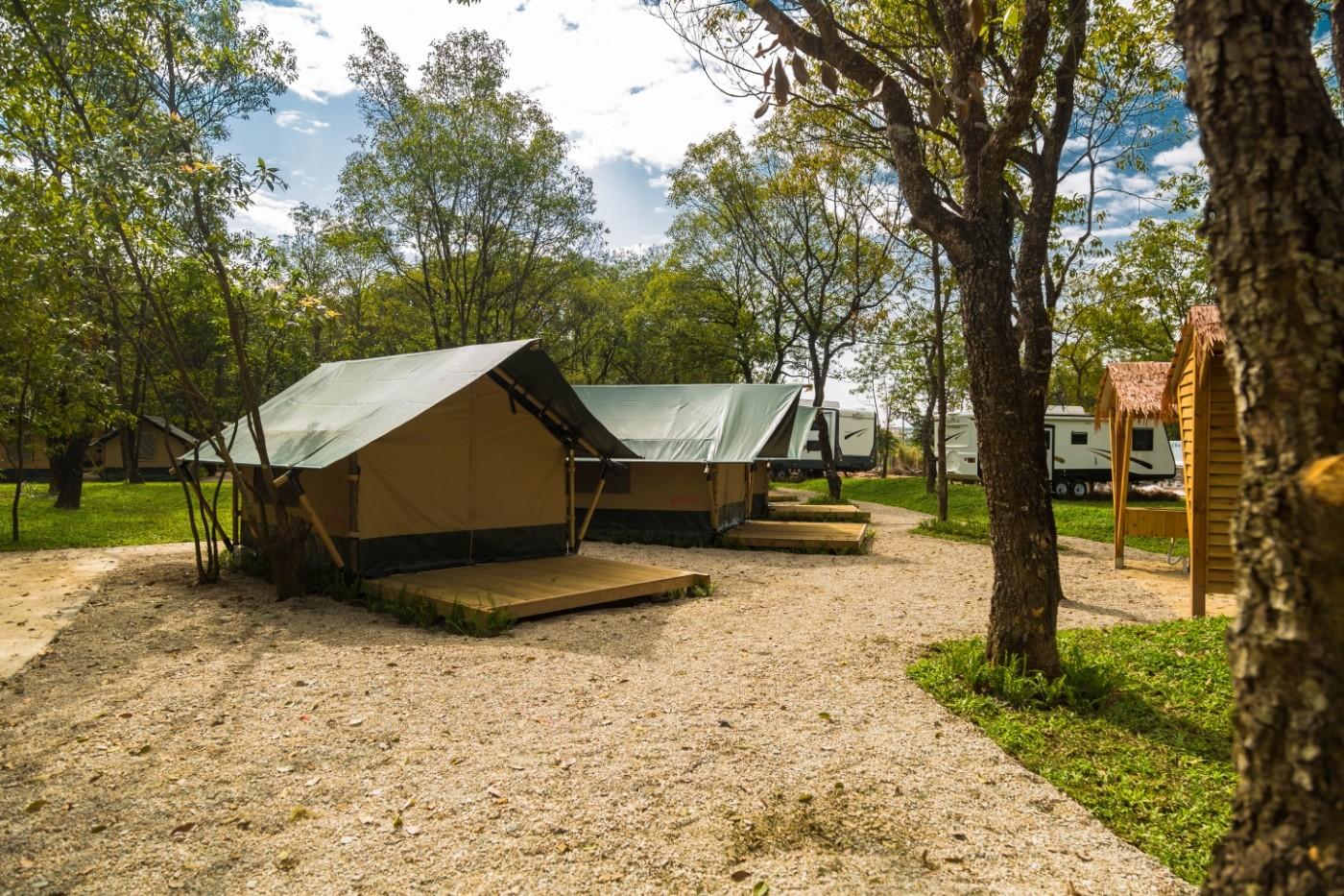 喜马拉雅青少年教育营地—广州和营天下平地帐篷酒店5