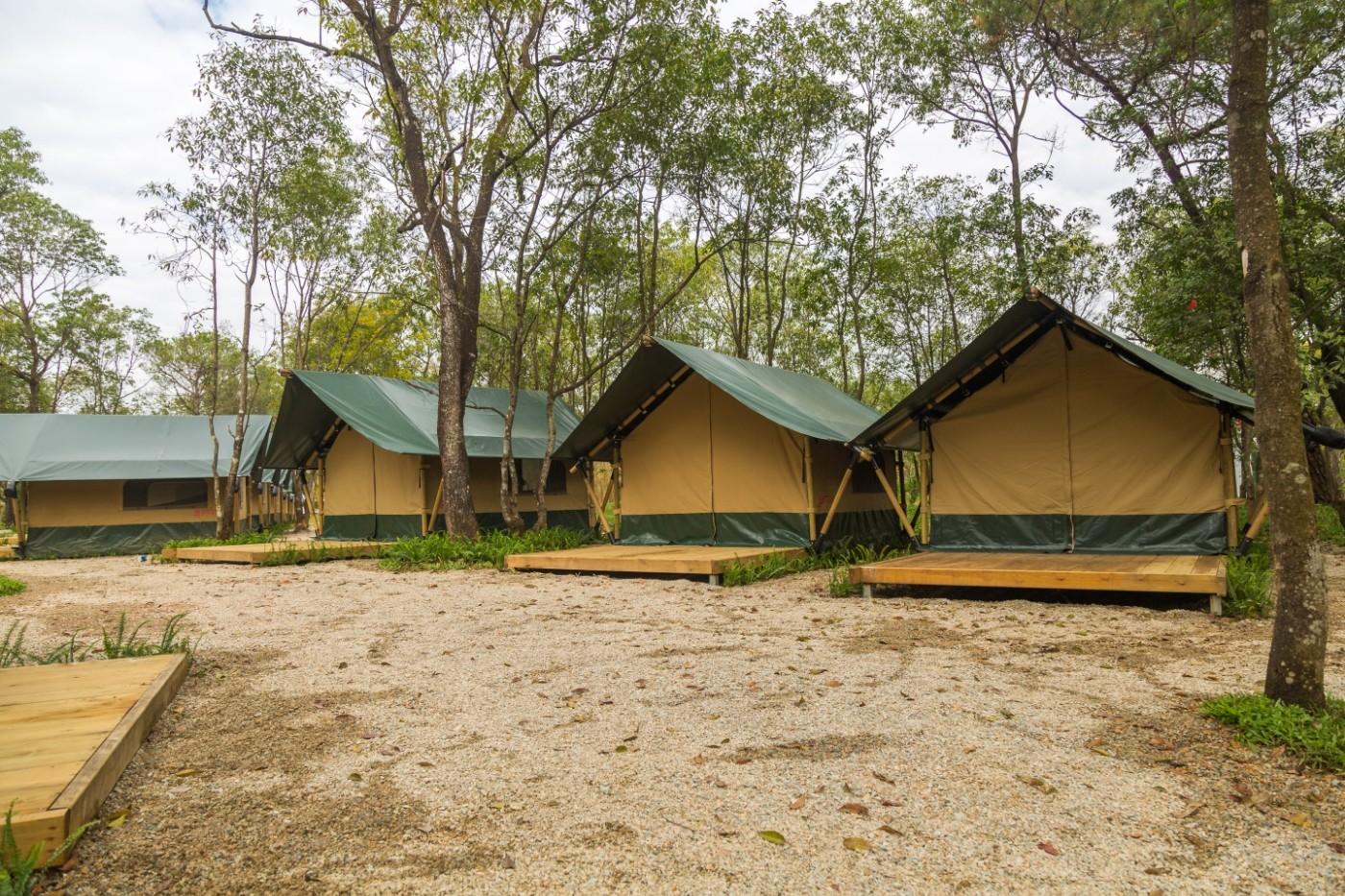 喜马拉雅青少年教育营地—广州和营天下平地帐篷酒店6