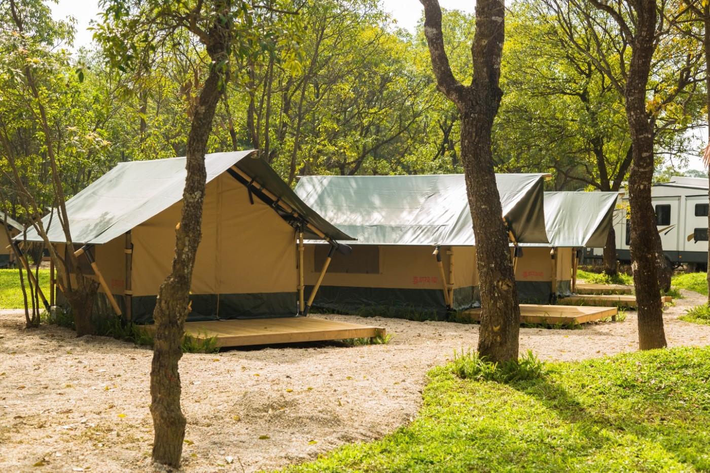 喜马拉雅青少年教育营地—广州和营天下平地帐篷酒店7
