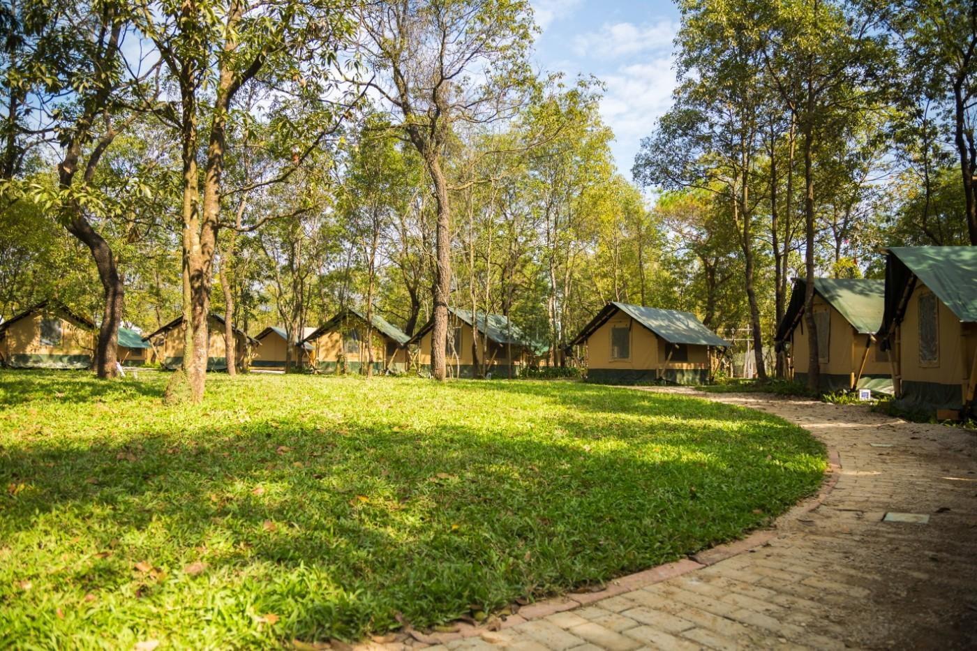 喜马拉雅青少年教育营地—广州和营天下平地帐篷酒店8