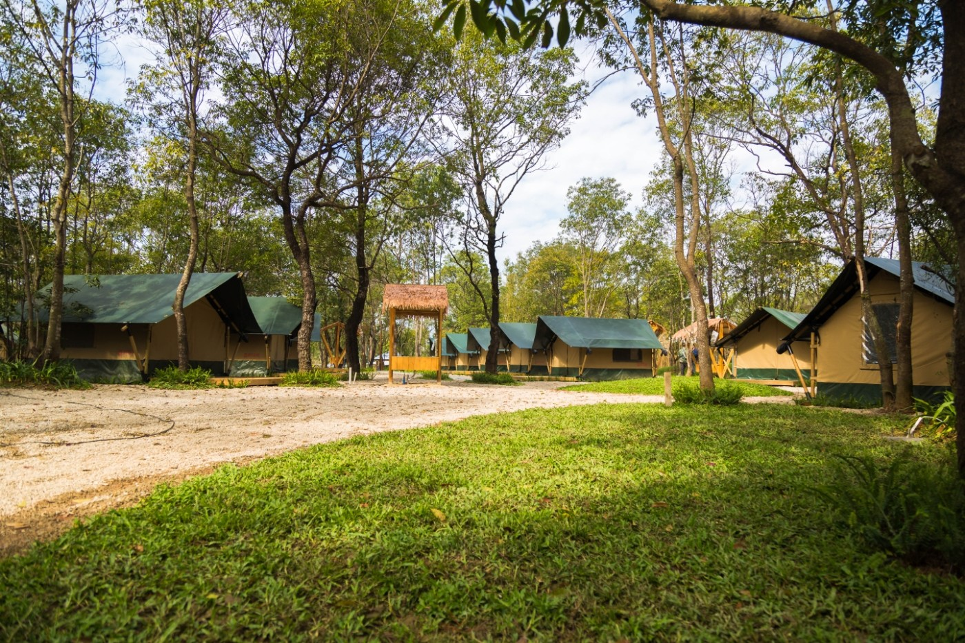 喜马拉雅青少年教育营地—广州和营天下平地帐篷酒店9