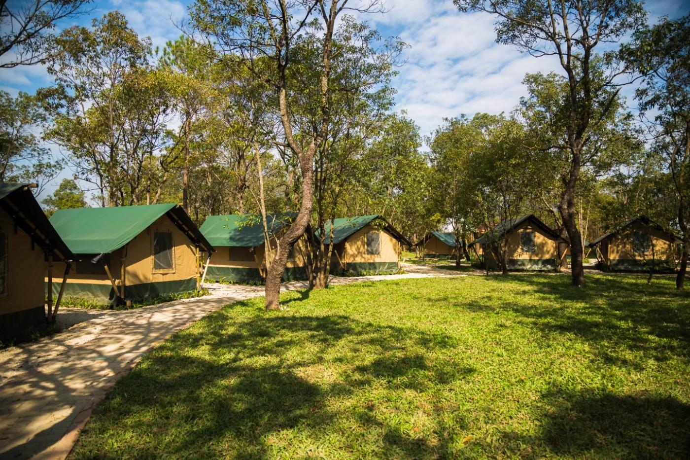 喜马拉雅青少年教育营地—广州和营天下平地帐篷酒店11