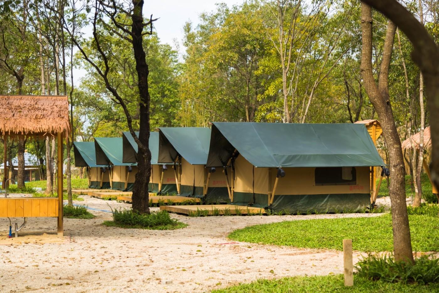 喜马拉雅青少年教育营地—广州和营天下平地帐篷酒店12