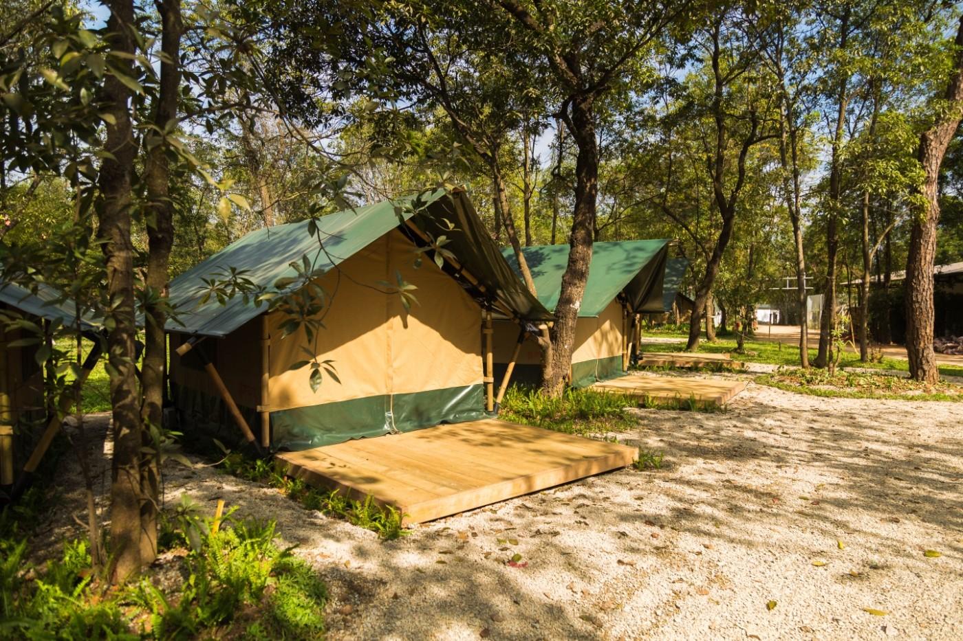 喜马拉雅青少年教育营地—广州和营天下平地帐篷酒店14