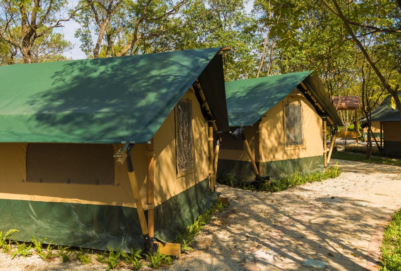 喜马拉雅青少年教育营地—广州和营天下平地帐篷酒店15