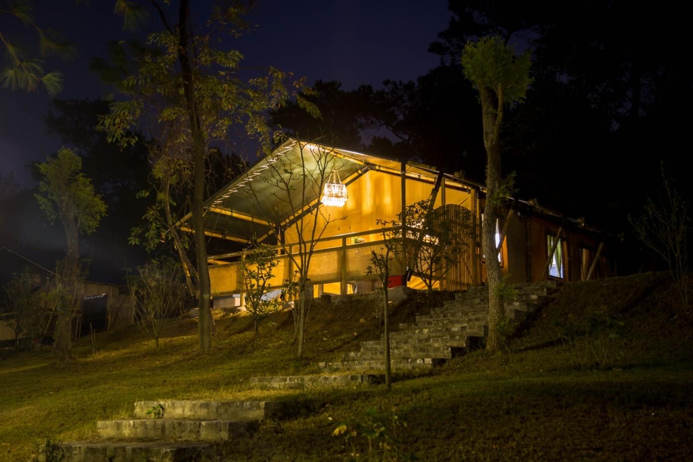 喜马拉雅野奢帐篷酒店—广州北迹露营平地帐篷酒店8