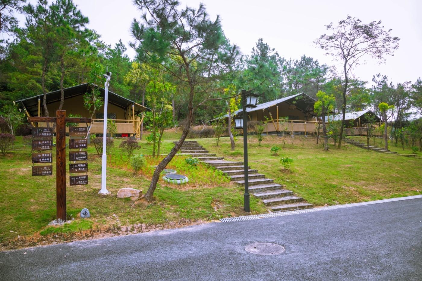 喜马拉雅野奢帐篷酒店—广州北迹露营平地帐篷酒店1