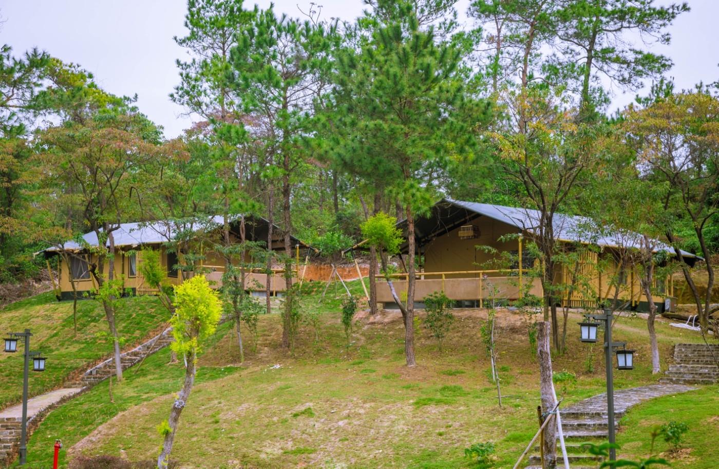 喜马拉雅野奢帐篷酒店—广州北迹露营平地帐篷酒店2
