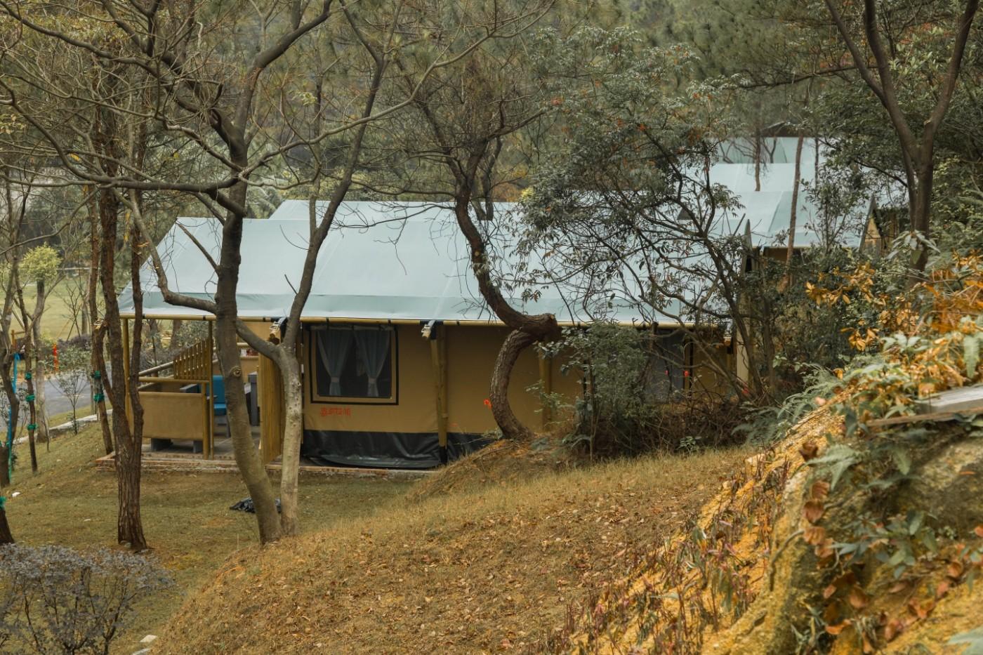 喜马拉雅野奢帐篷酒店—广州北迹露营平地帐篷酒店10