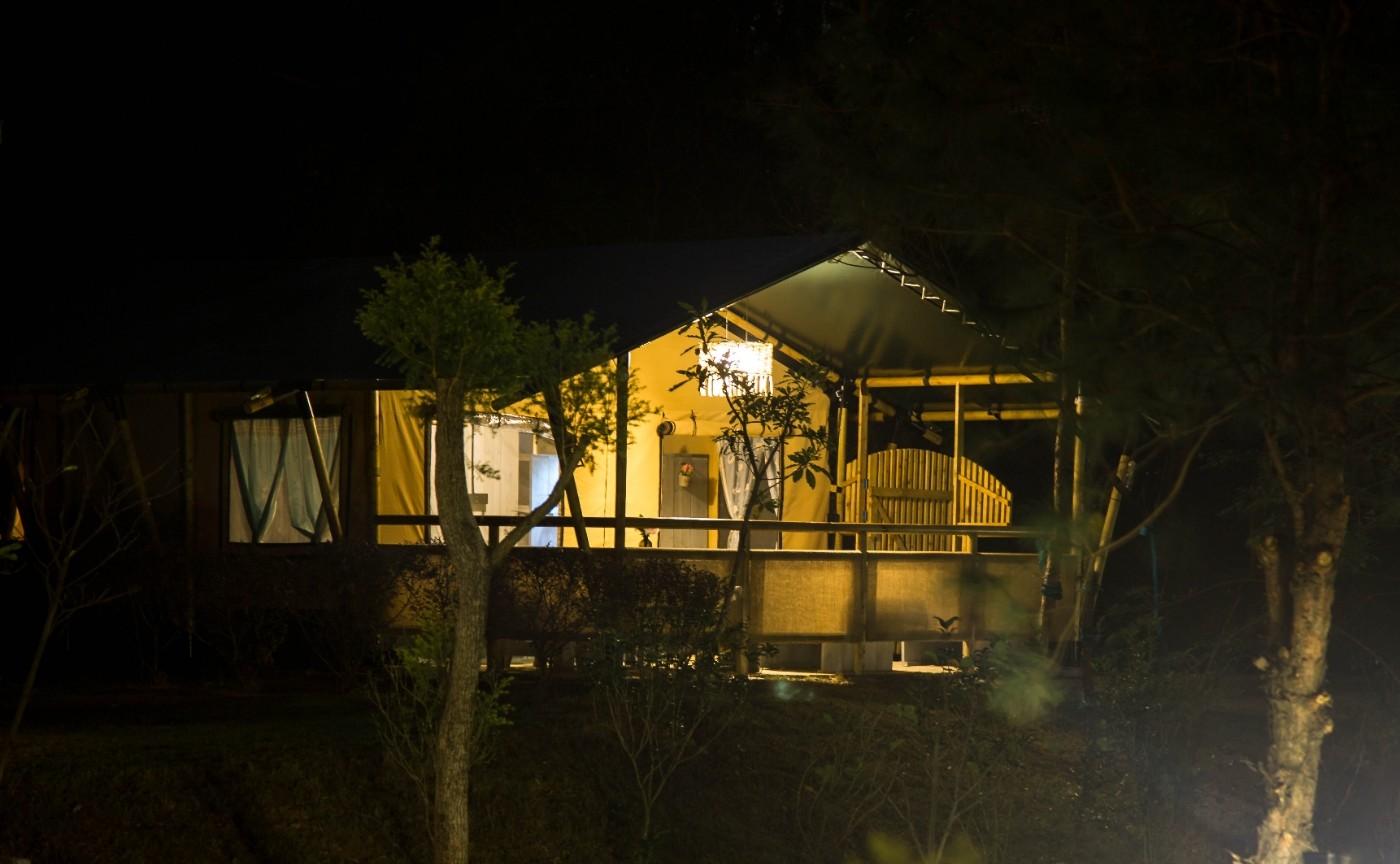 喜马拉雅野奢帐篷酒店—广州北迹露营平地帐篷酒店11