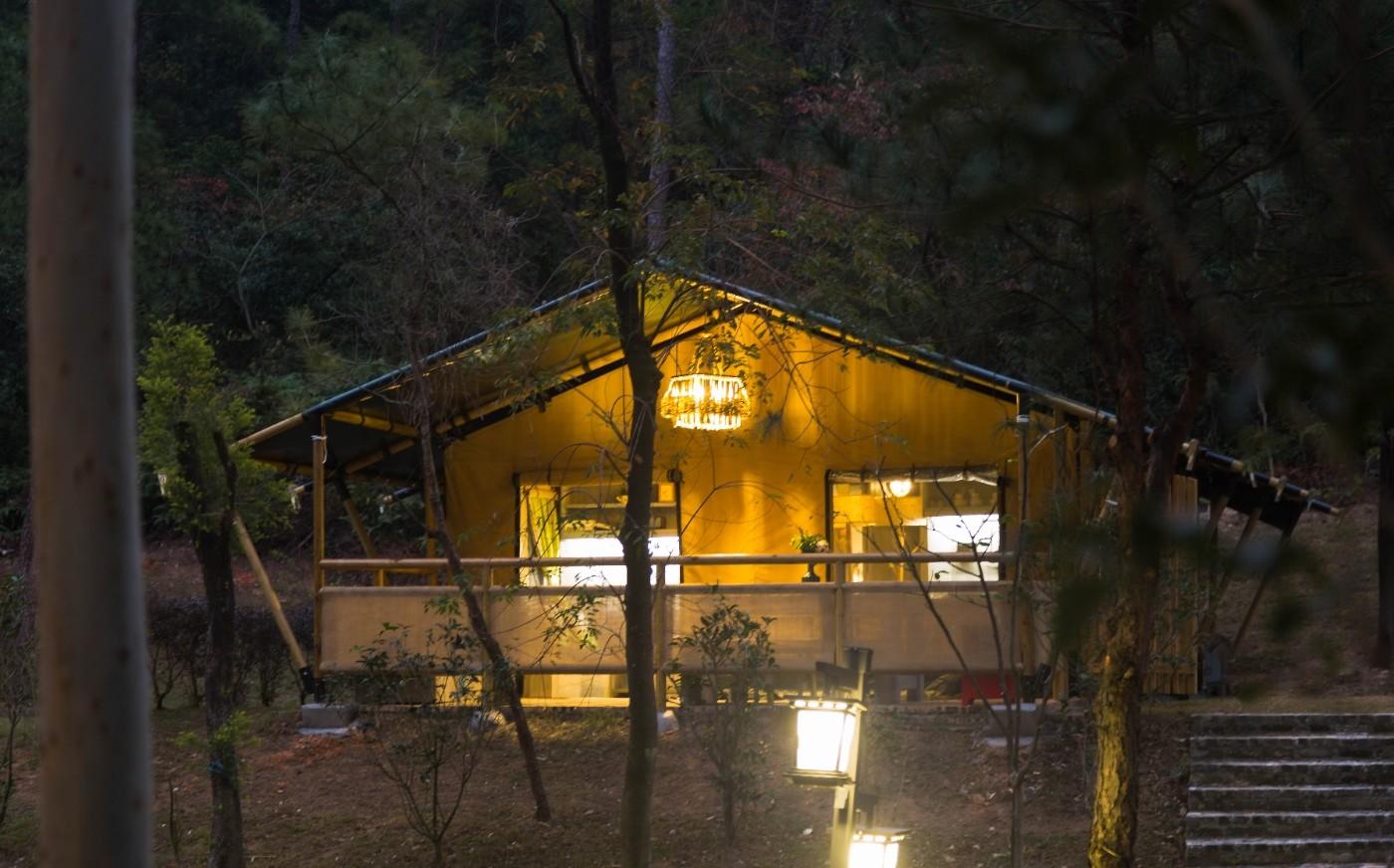 喜马拉雅野奢帐篷酒店—广州北迹露营平地帐篷酒店12