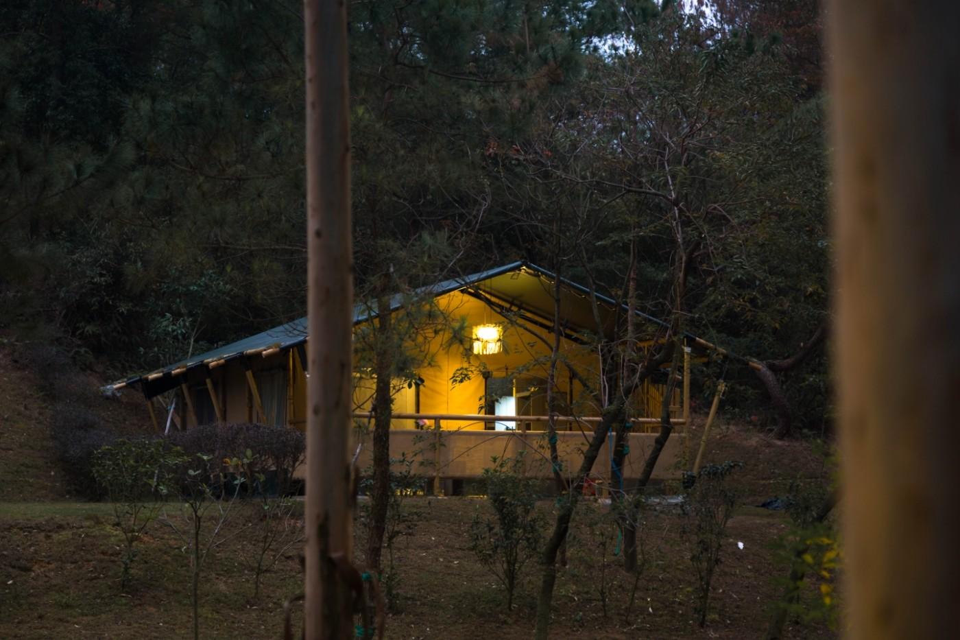 喜马拉雅野奢帐篷酒店—广州北迹露营平地帐篷酒店13