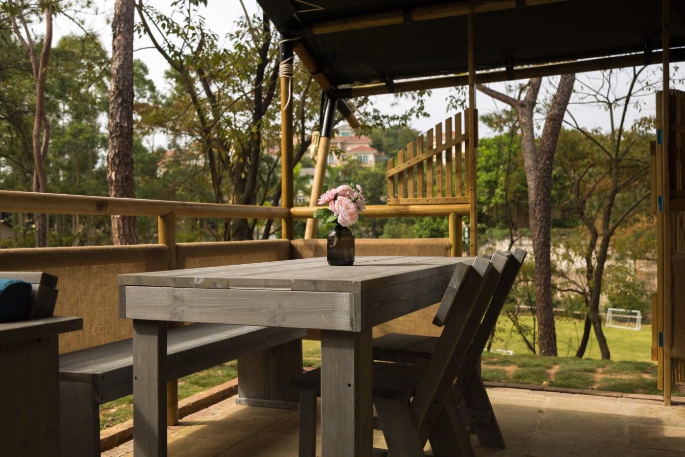 喜马拉雅野奢帐篷酒店—广州北迹露营平地帐篷酒店16