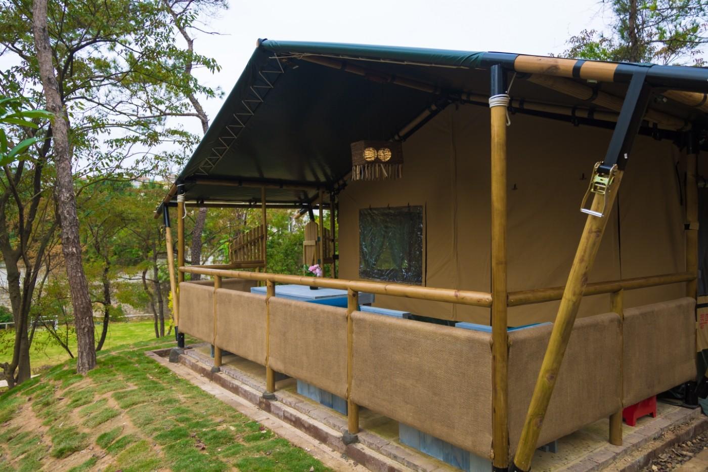 喜马拉雅野奢帐篷酒店—广州北迹露营平地帐篷酒店15