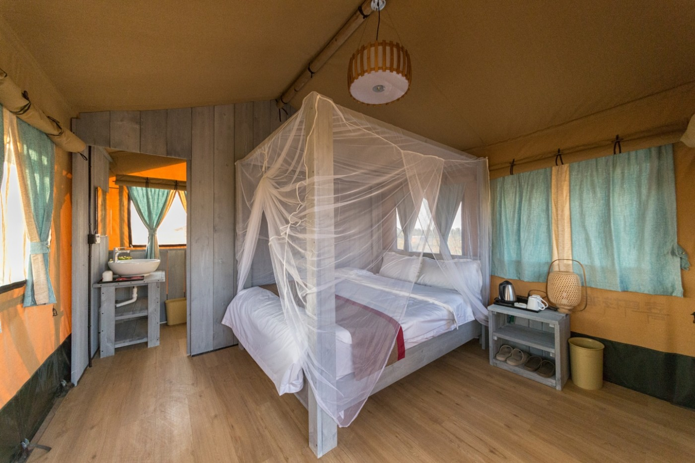 喜马拉雅野奢帐篷酒店—济南长清23