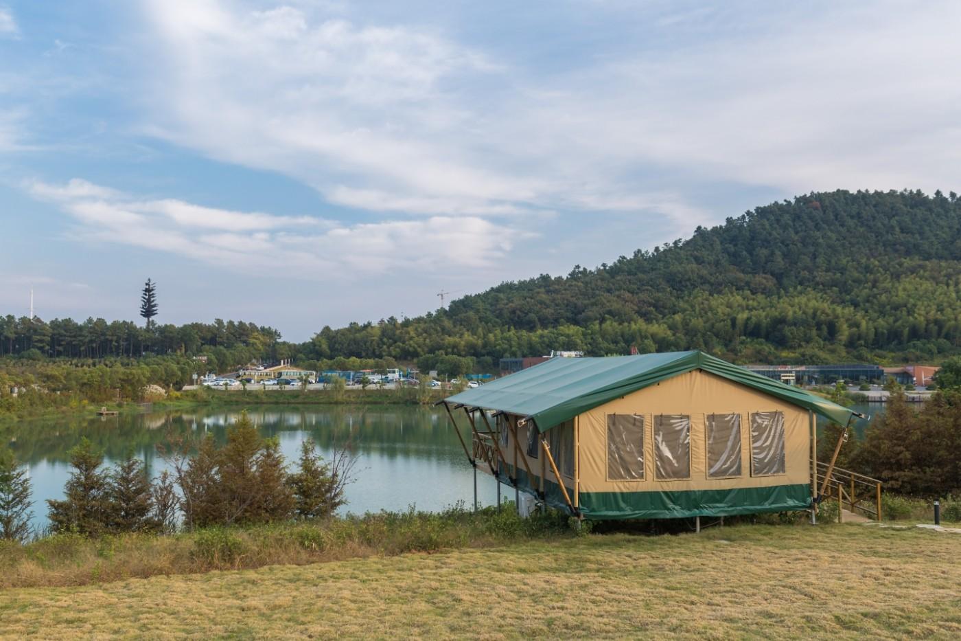 喜马拉雅野奢帐篷酒店—宝盛园夜色6