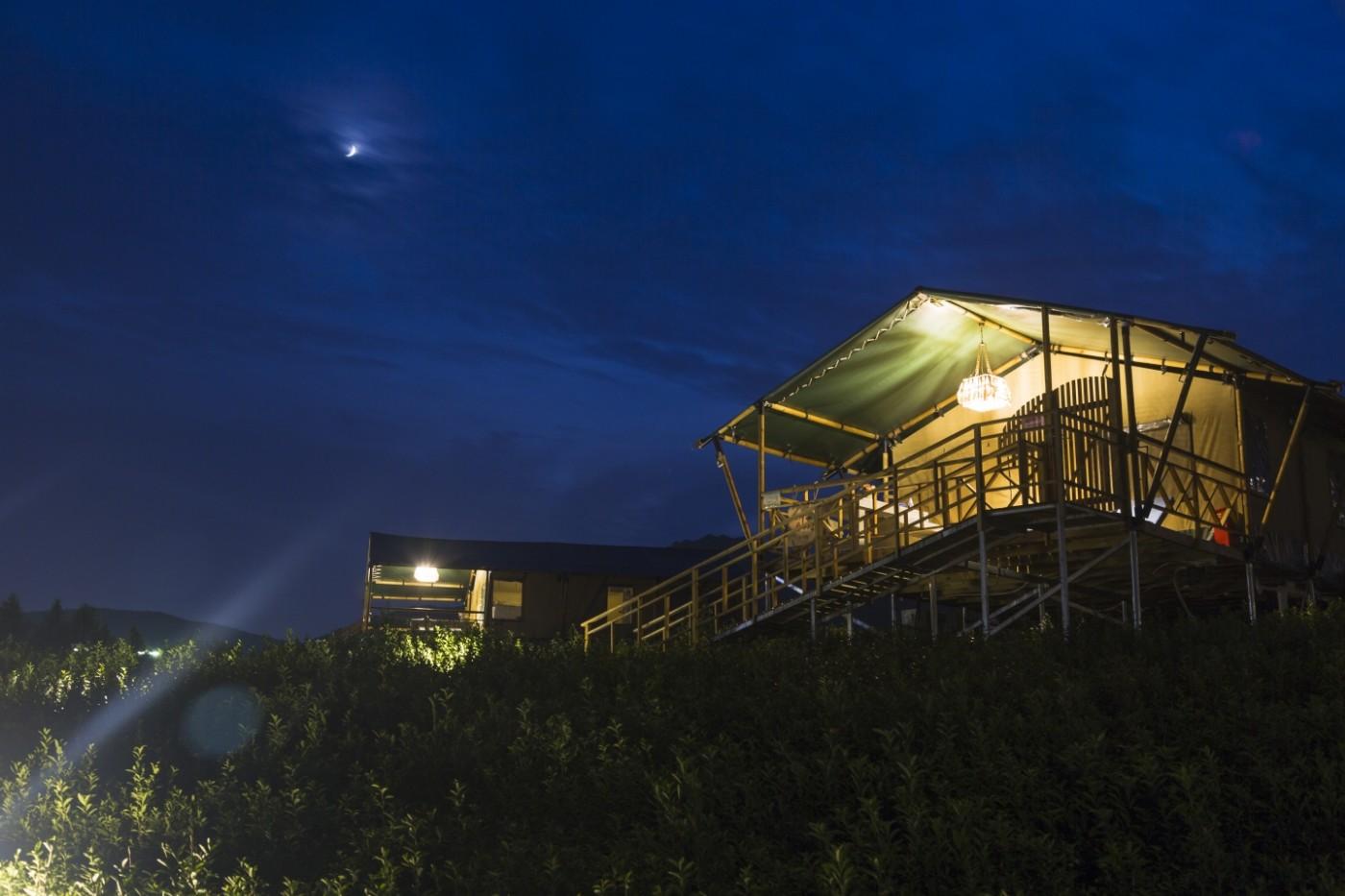 喜马拉雅野奢帐篷酒店—宝盛园夜色18