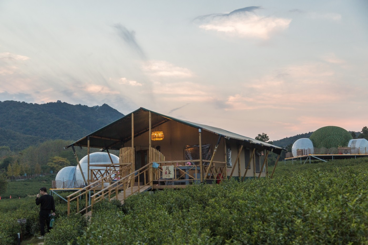 喜马拉雅野奢帐篷酒店—宝盛园夜色12