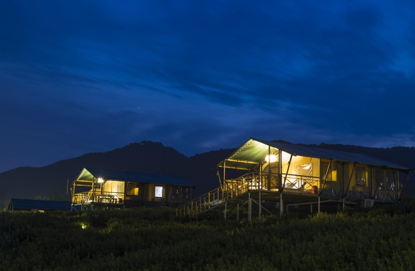 喜马拉雅野奢帐篷酒店—宝盛园夜色20