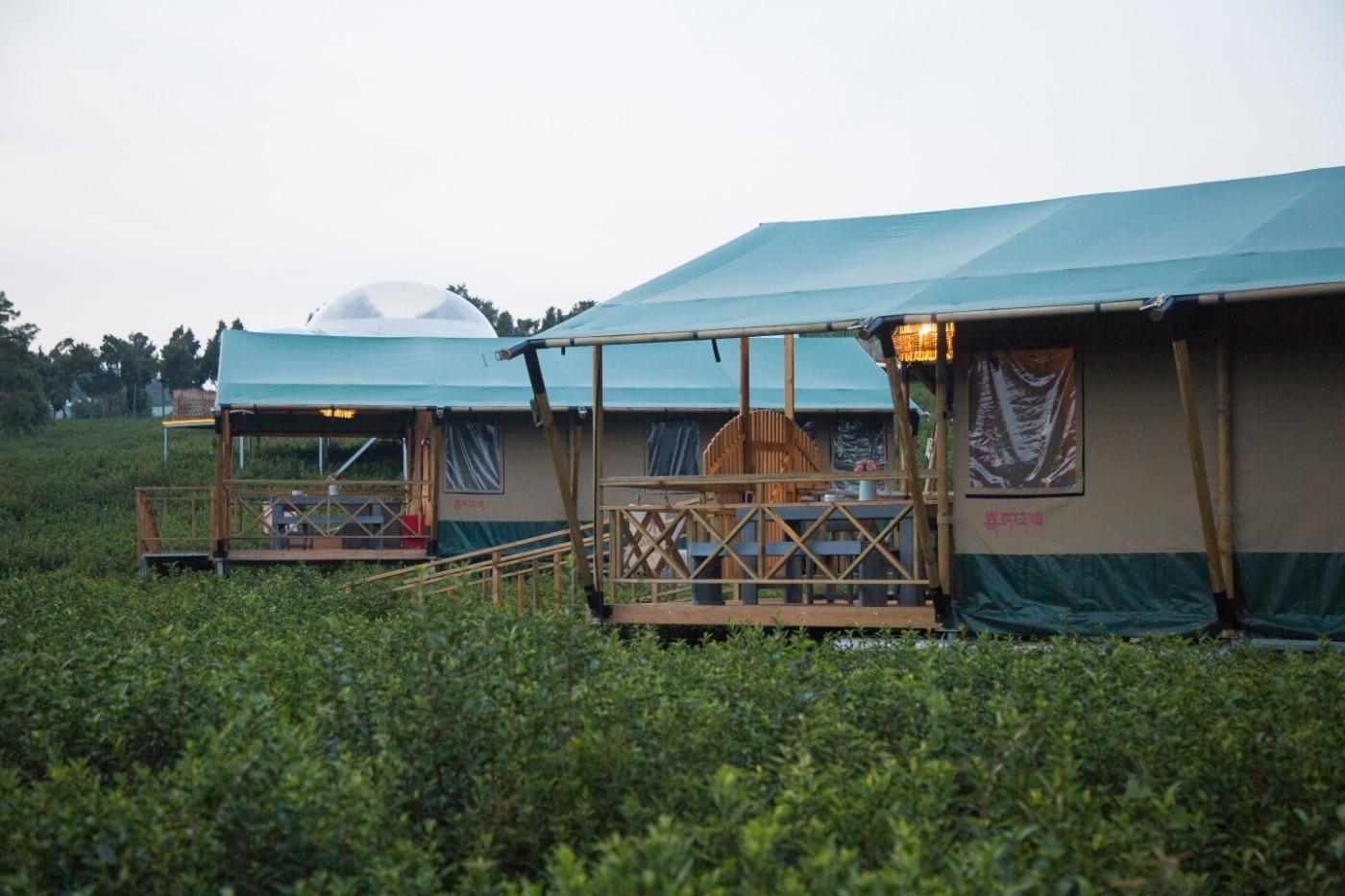 喜马拉雅野奢帐篷酒店—宝盛园夜色8