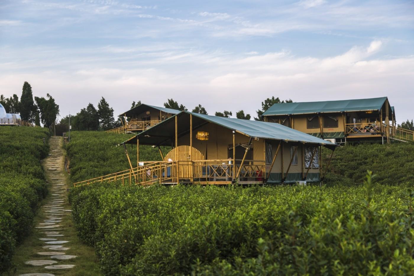 喜马拉雅野奢帐篷酒店—宝盛园夜色11