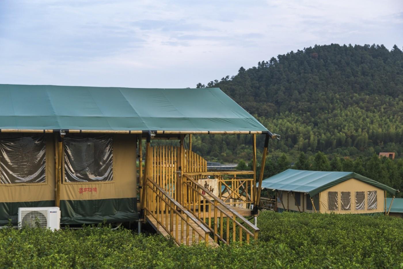 喜马拉雅野奢帐篷酒店—宝盛园夜色10