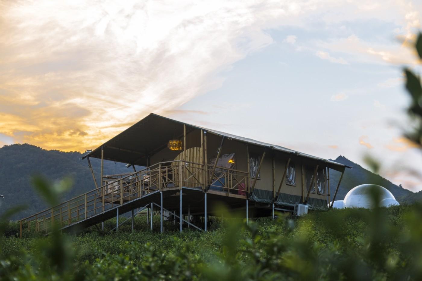 喜马拉雅野奢帐篷酒店—宝盛园夜色16