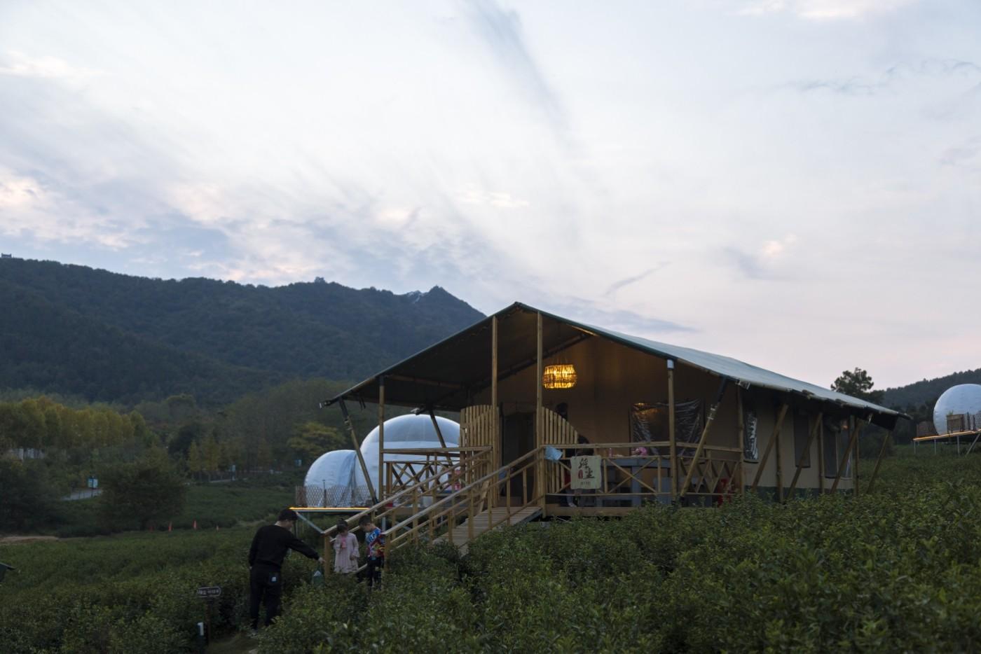 喜马拉雅野奢帐篷酒店—宝盛园夜色14