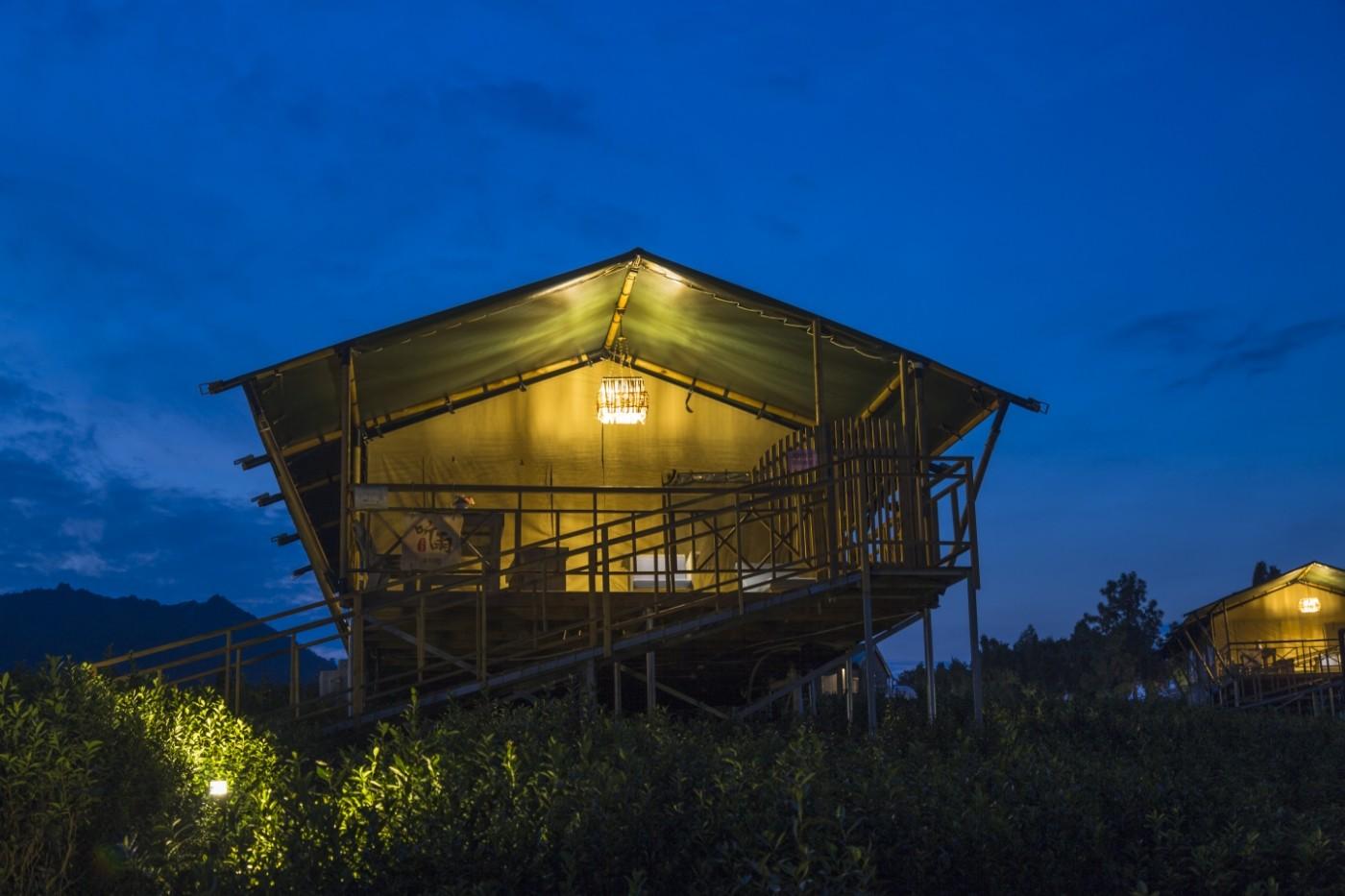 喜马拉雅野奢帐篷酒店—宝盛园夜色21
