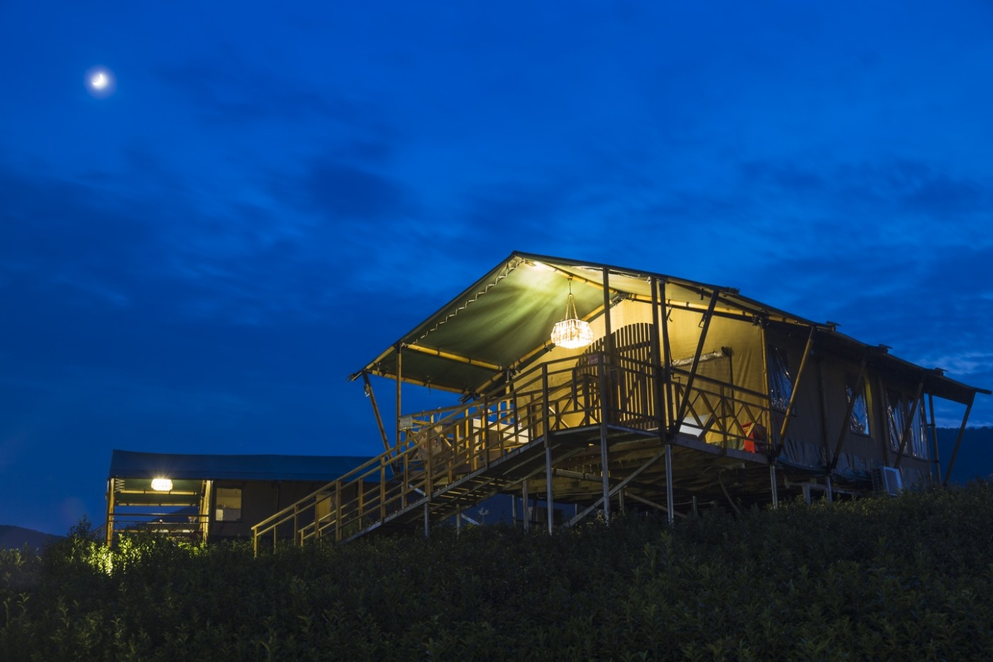 喜马拉雅野奢帐篷酒店—宝盛园夜色25