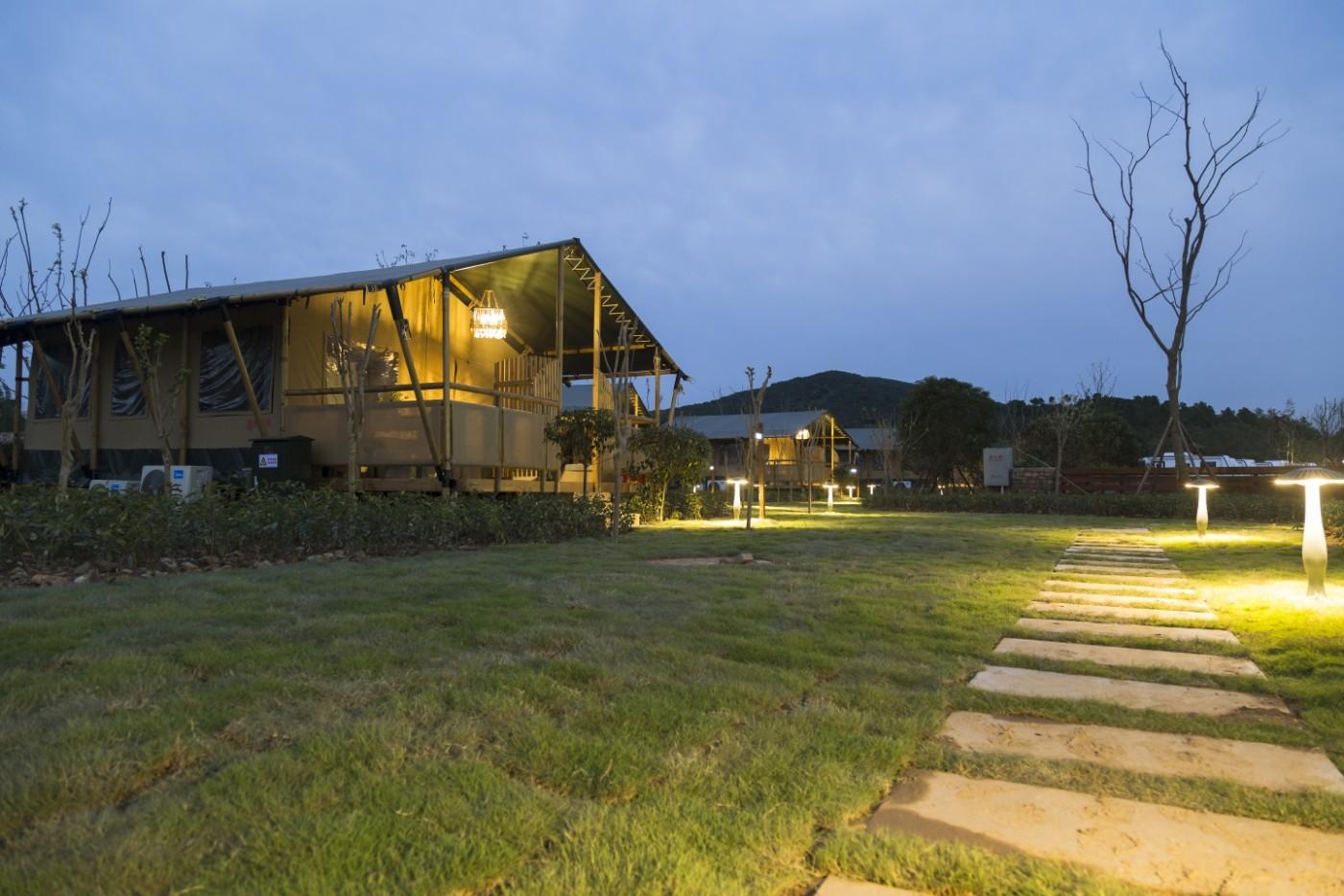 喜马拉雅野奢帐篷酒店—太湖湾露营谷9