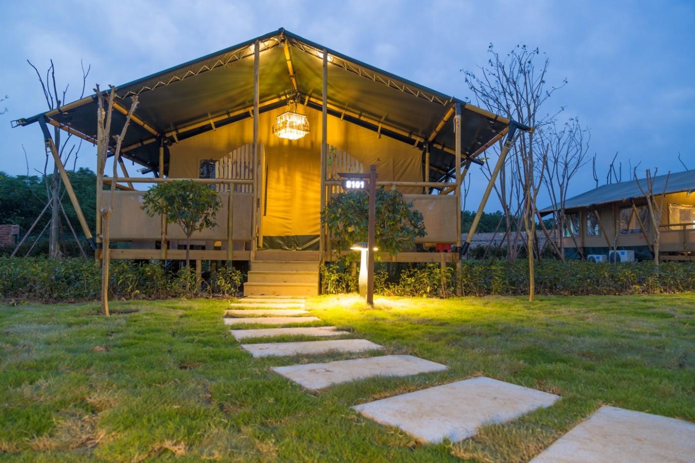 喜马拉雅野奢帐篷酒店—太湖湾露营谷10
