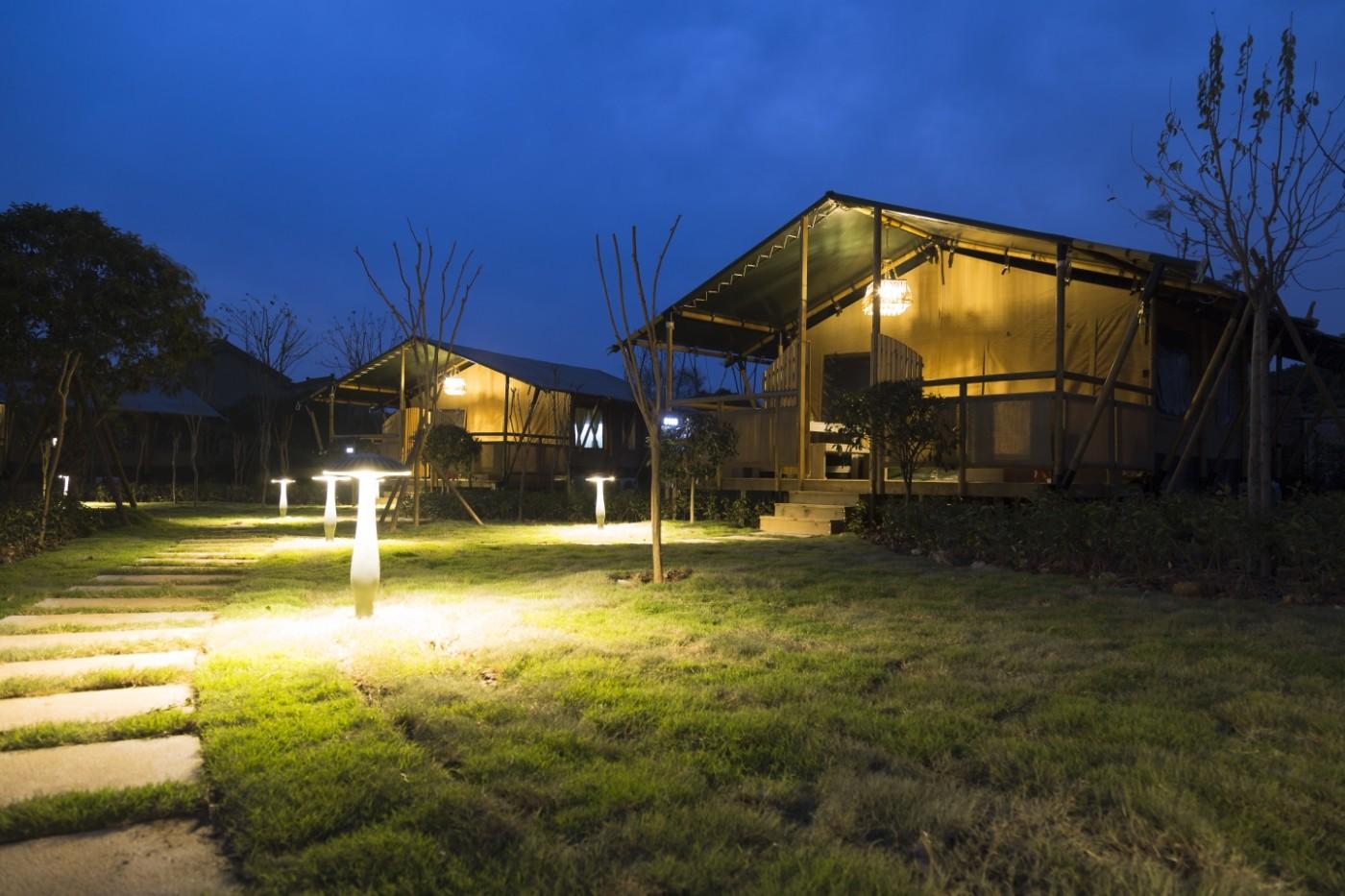 喜马拉雅野奢帐篷酒店—太湖湾露营谷12