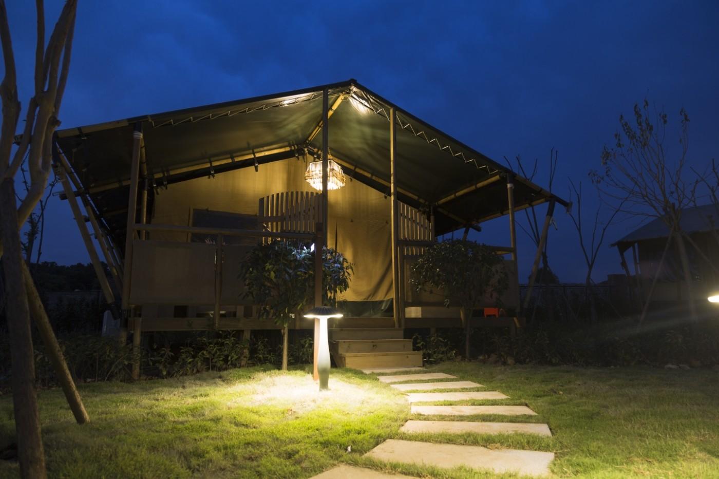 喜马拉雅野奢帐篷酒店—太湖湾露营谷11