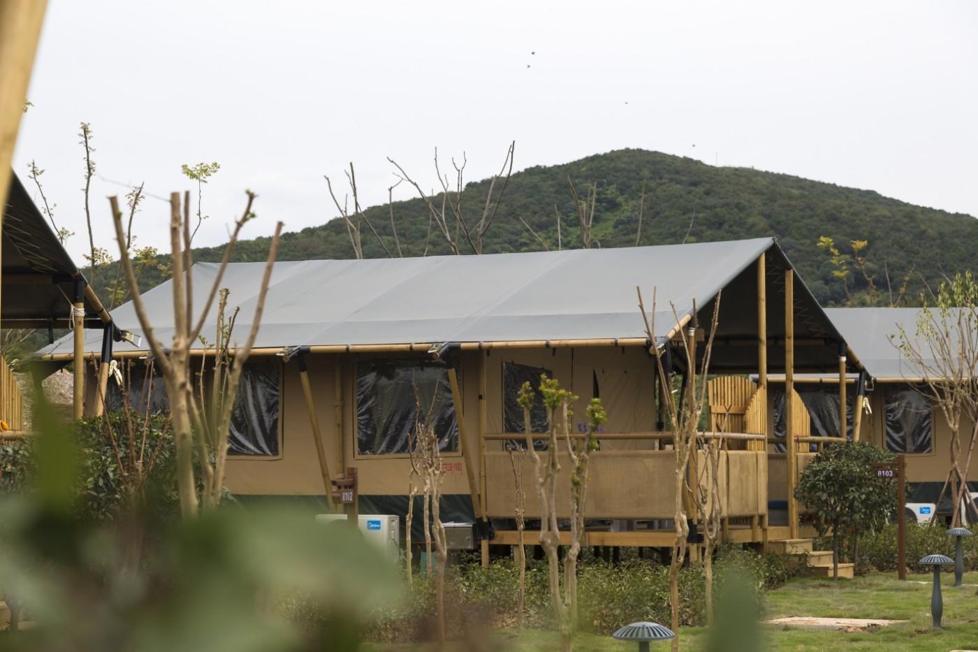 喜马拉雅野奢帐篷酒店—太湖湾露营谷4