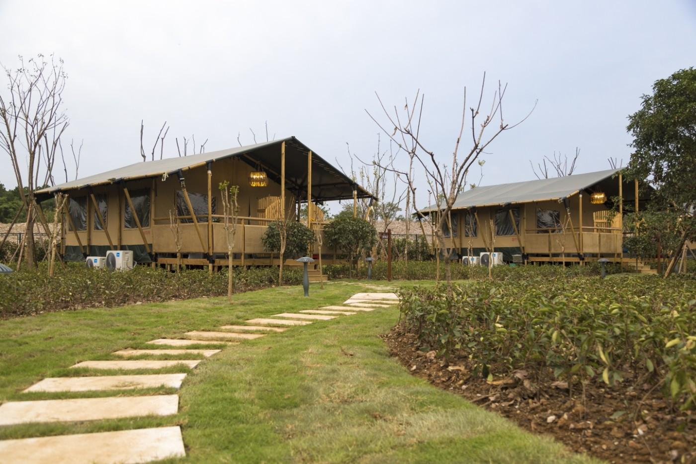 喜马拉雅野奢帐篷酒店—太湖湾露营谷6
