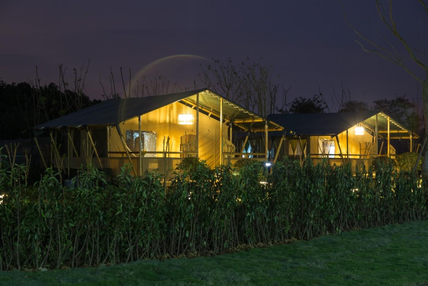 喜马拉雅野奢帐篷酒店—太湖湾露营谷13