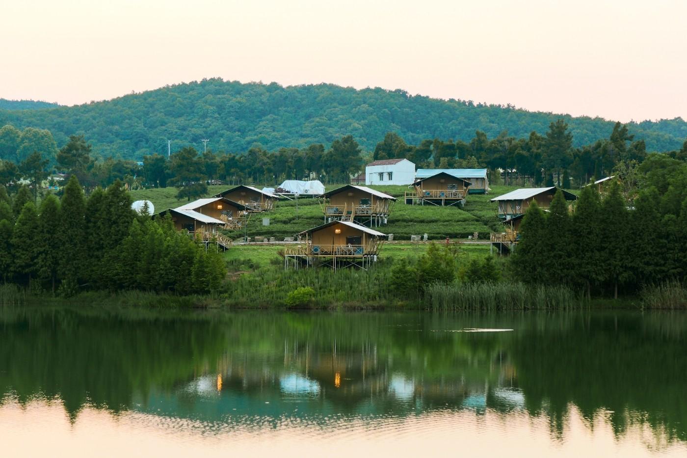 喜马拉雅野奢帐篷酒店—江苏常州茅山宝盛园茶园帐篷酒店1