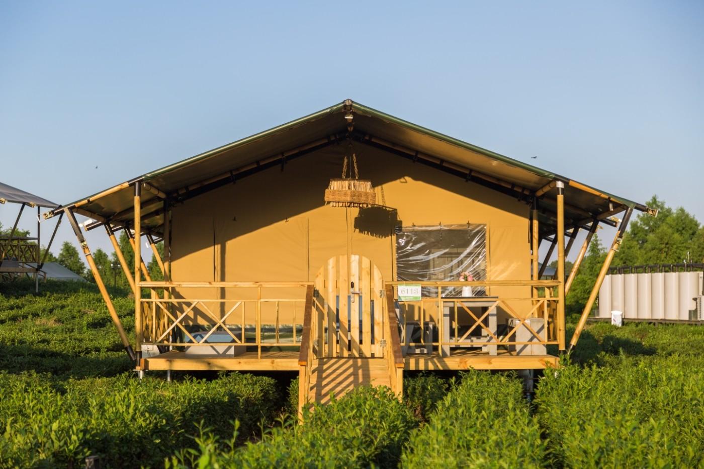 喜马拉雅野奢帐篷酒店—江苏常州茅山宝盛园茶园帐篷酒店4