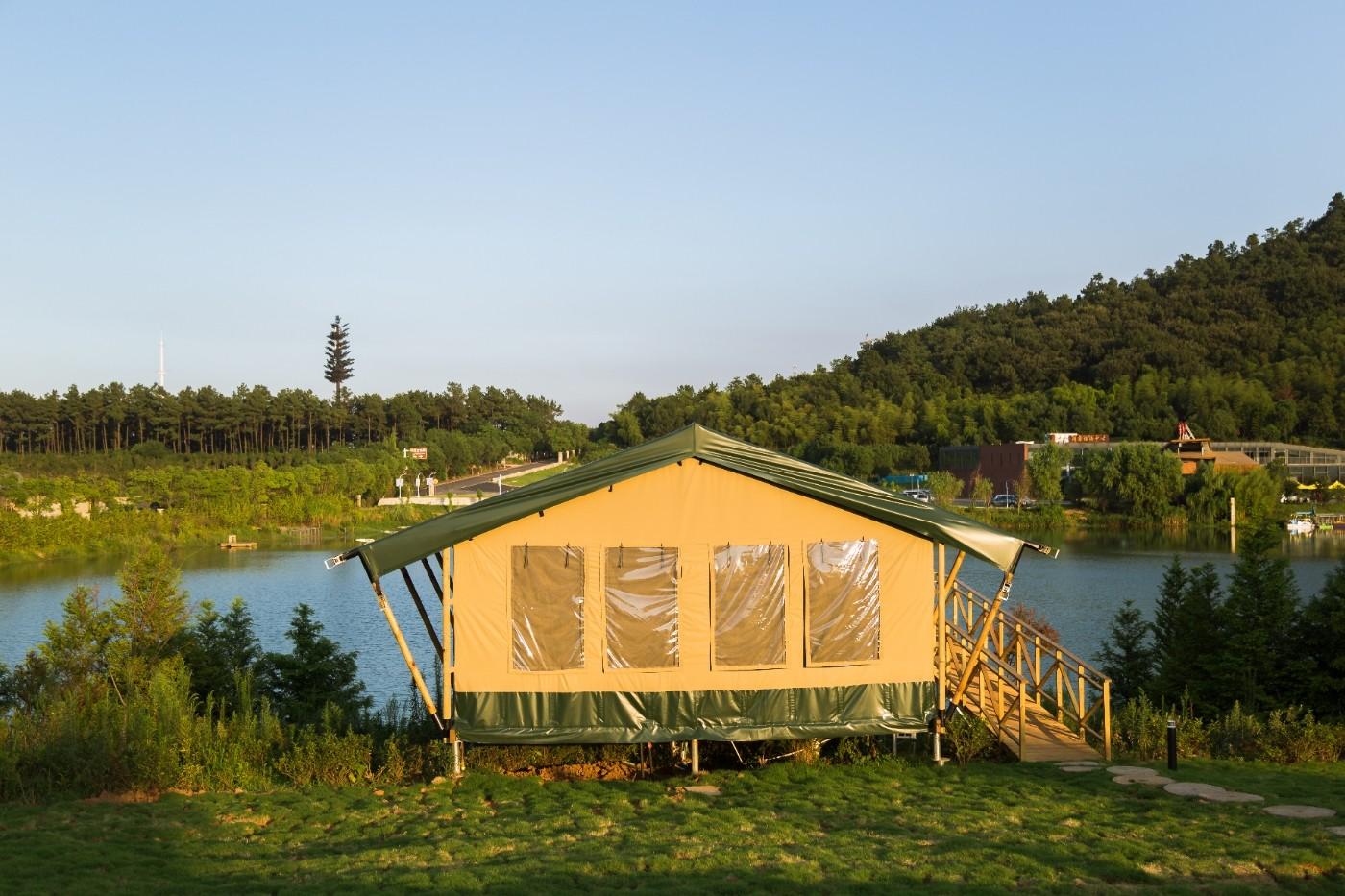 江苏常州茅山宝盛园坡地帐篷酒店5