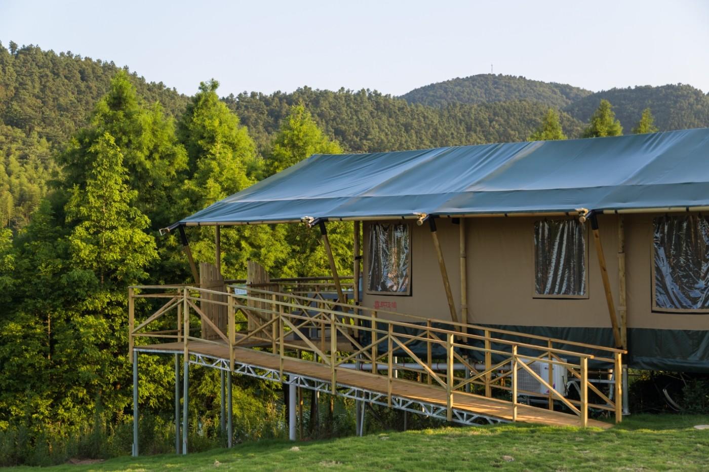 喜马拉雅野奢帐篷酒店—江苏常州茅山宝盛园茶园帐篷酒店6