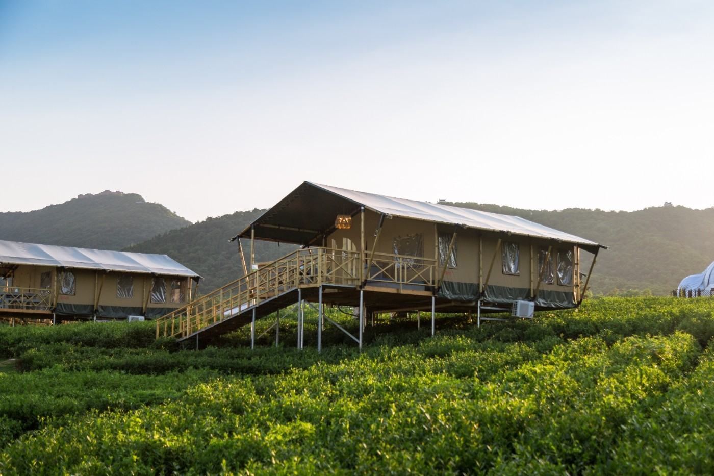 喜马拉雅野奢帐篷酒店—江苏常州茅山宝盛园茶园帐篷酒店7