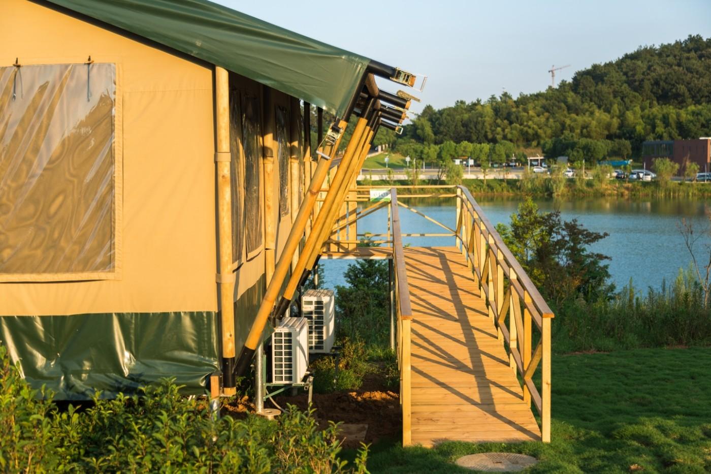 喜马拉雅野奢帐篷酒店—江苏常州茅山宝盛园茶园帐篷酒店8