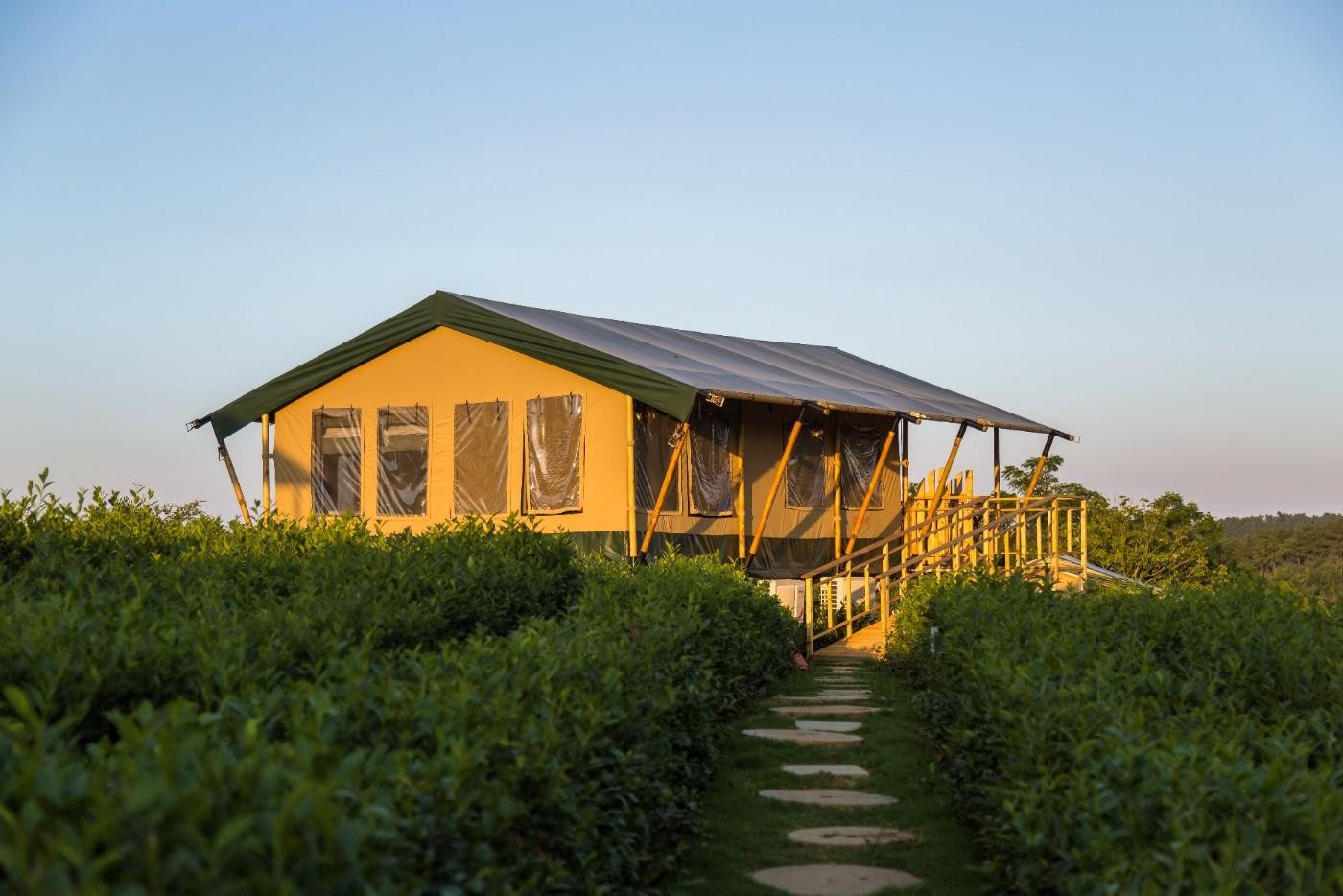 喜马拉雅野奢帐篷酒店—江苏常州茅山宝盛园茶园帐篷酒店11
